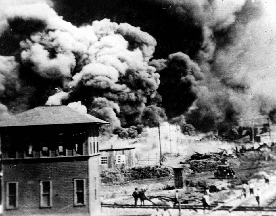 Tulsa riot photo